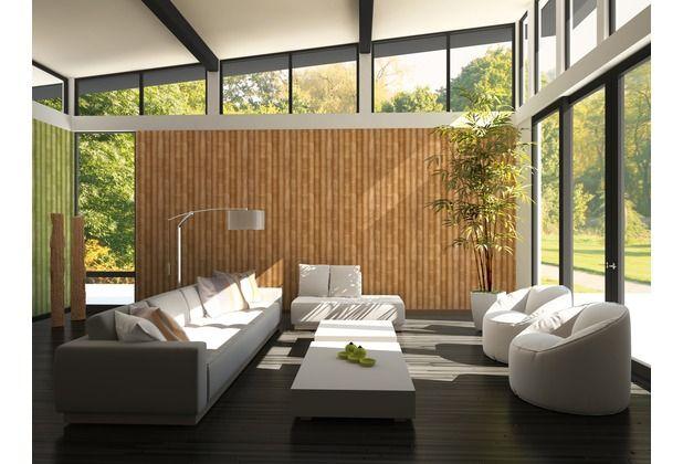 Mit dieser schönen, hellbraunen Tapete holen Sie sich das Natur - wohnzimmer tapete grun