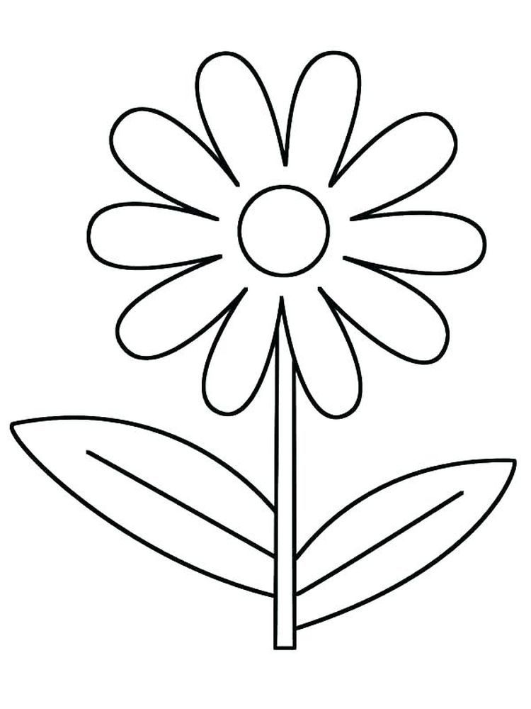 Daisy Flower Friends Coloring Pages on a budget