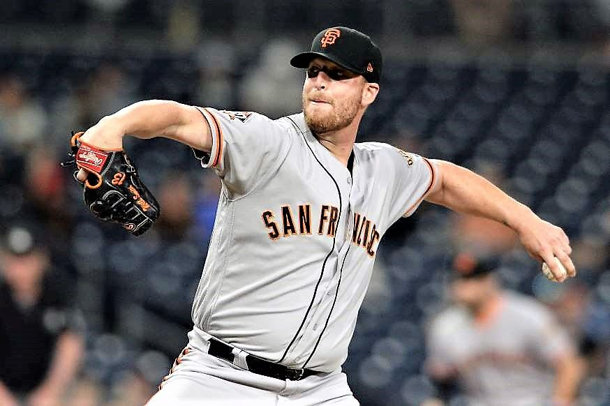 San Francisco Giants Will Smith Smith rallied in