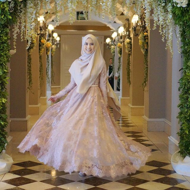 Nadiah Faatimah Nadiahf For The Love Of D Instagram Photo Websta Muslim Wedding Dresses Muslimah Wedding Dress Muslim Fashion Dress