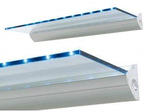 Mensole In Vetro Luminose.Mensola Luminosa Led Palau Mensole Led E Illuminazione