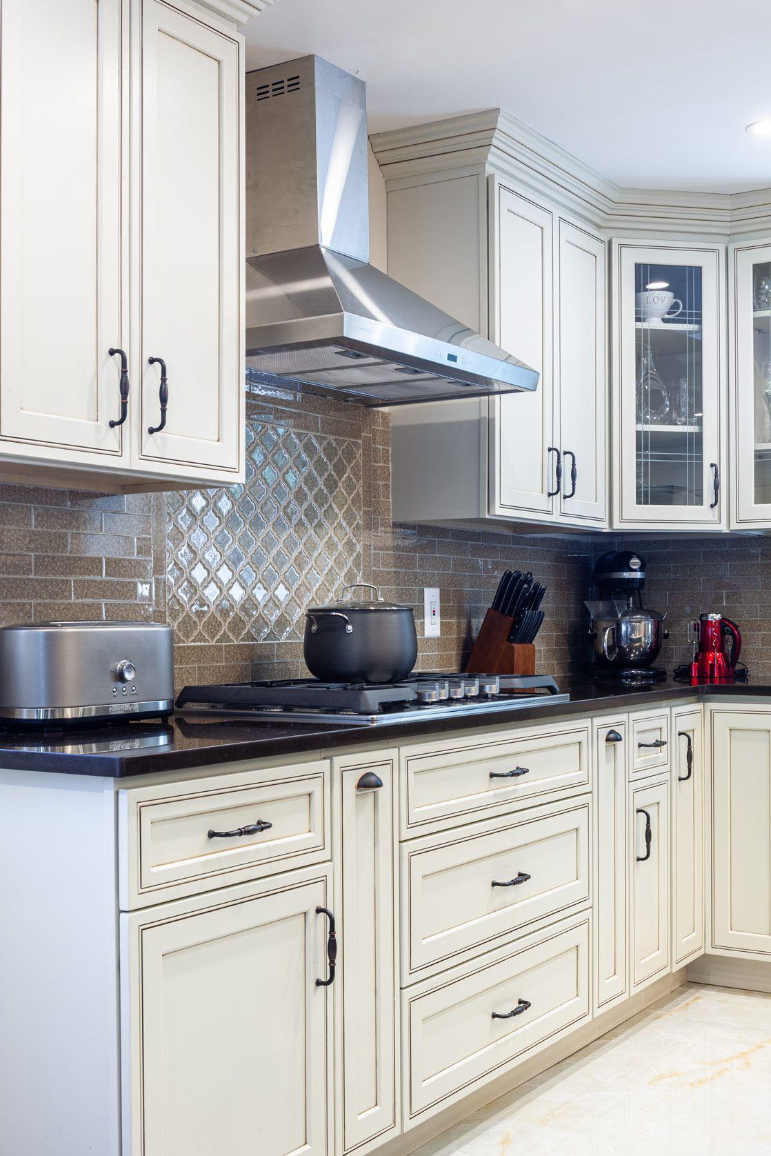 Home Cabinet Westbury H9 Style Pearl Maple Glazed Kitchen ...