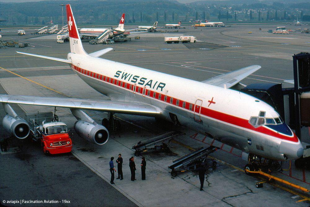 Swissair McDonnellDouglas DC852 Aviation, Pilots