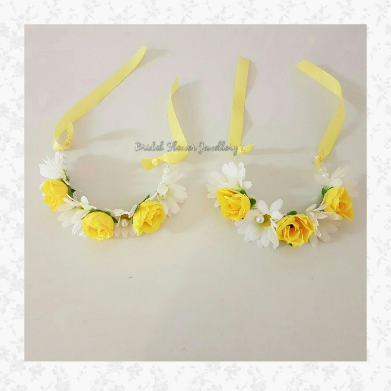 Artificial flower bangles by Bridal Flower Jewellery www ...