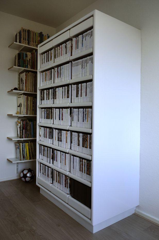 DVD-kast | DVD kast | Pinterest - Kast en Opslag