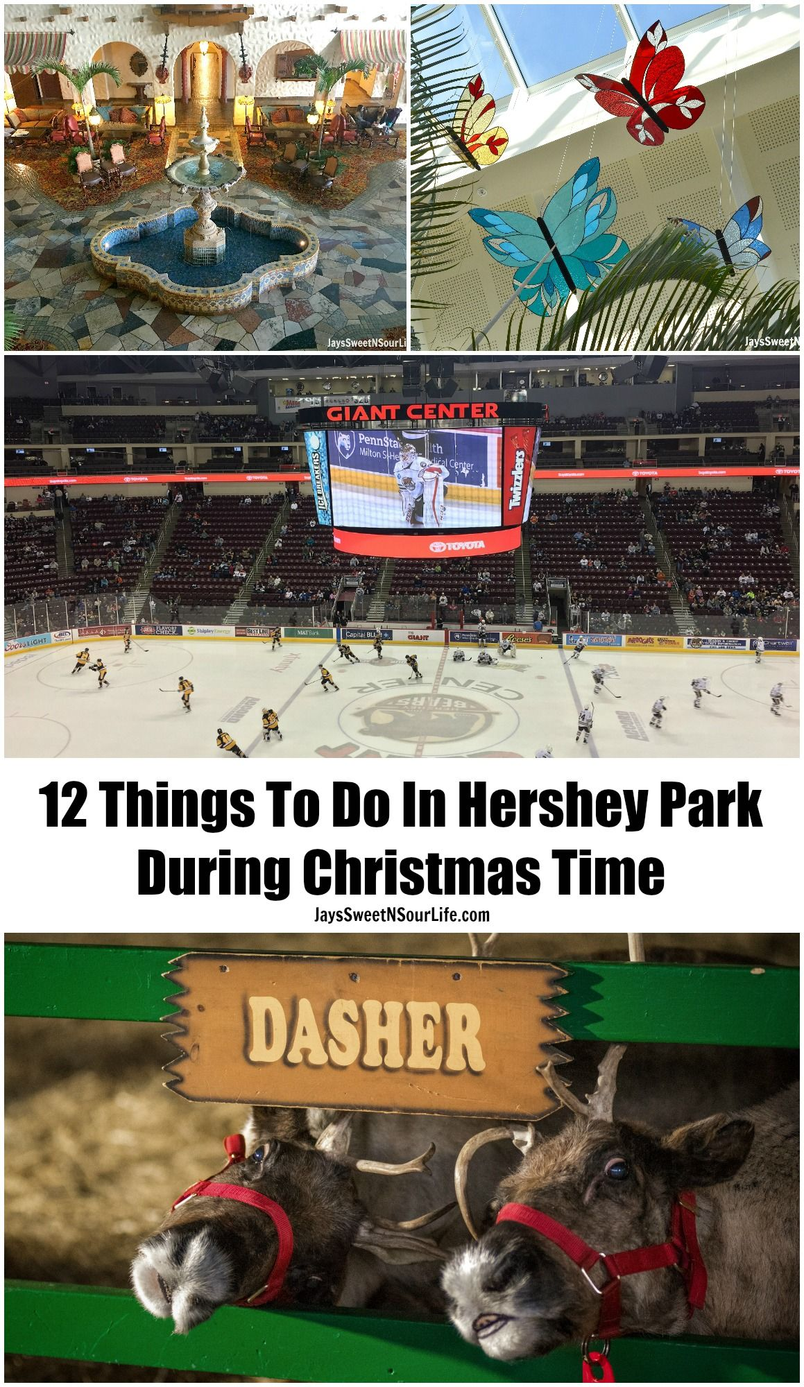 12 Things To Do In Hershey, PA During Christmas Time | Travel fun, Christmas time, Ny trip