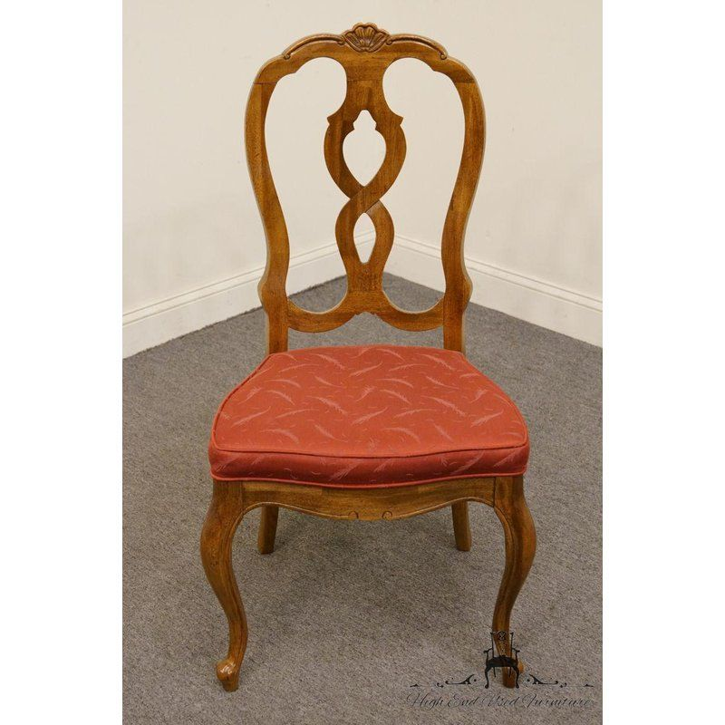 Late 20th Century Vintage Thomasville Furniture Camille Collection Dining Chair Thomasville Furniture French Dining Chairs Chair