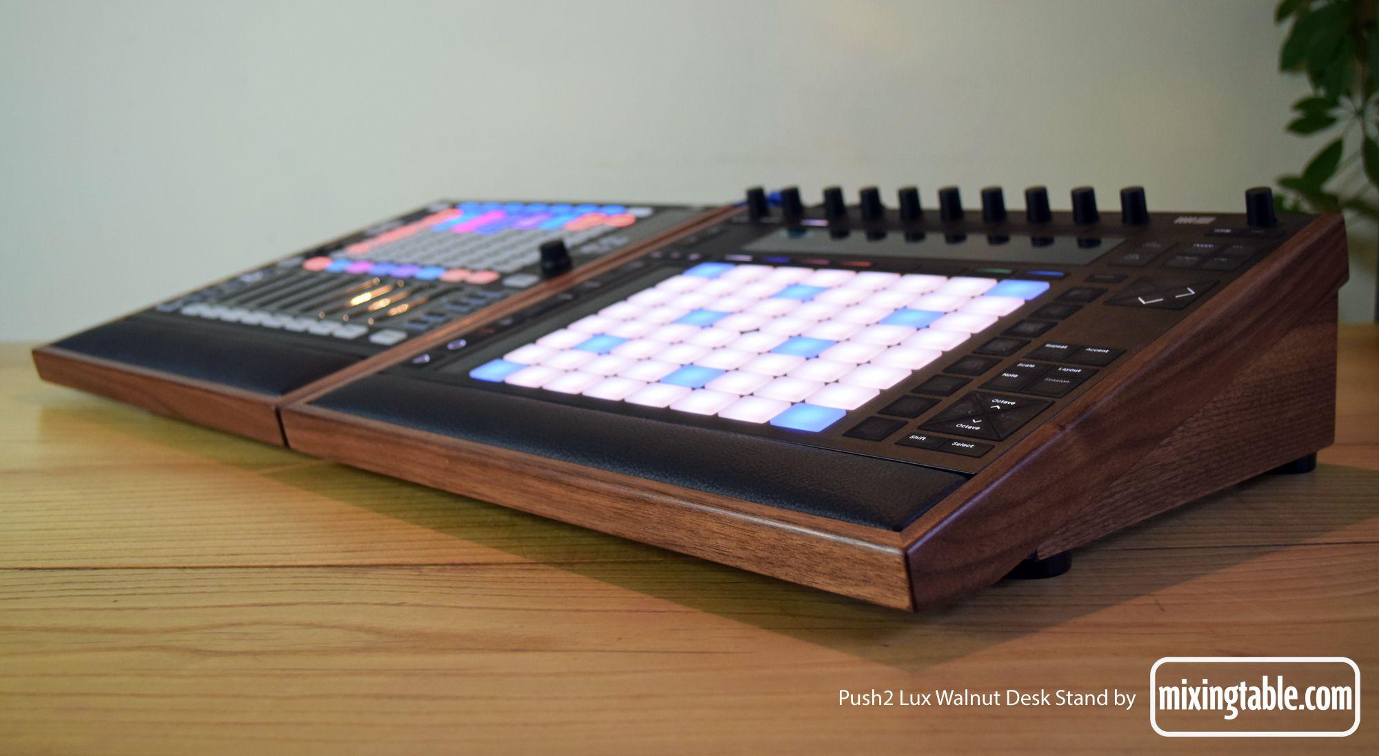 Push2 Lux Desk Stand | Mixingtable com | Recording Studio in 2019