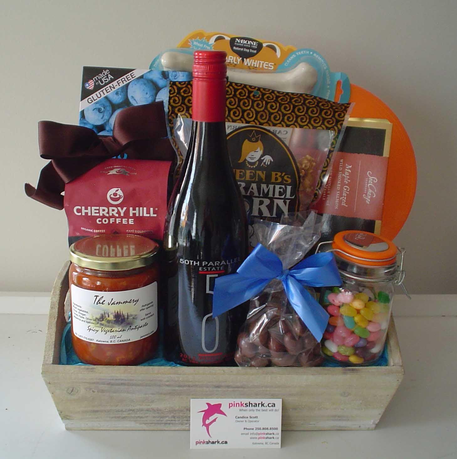 Gift baskets pinksharkca gift baskets