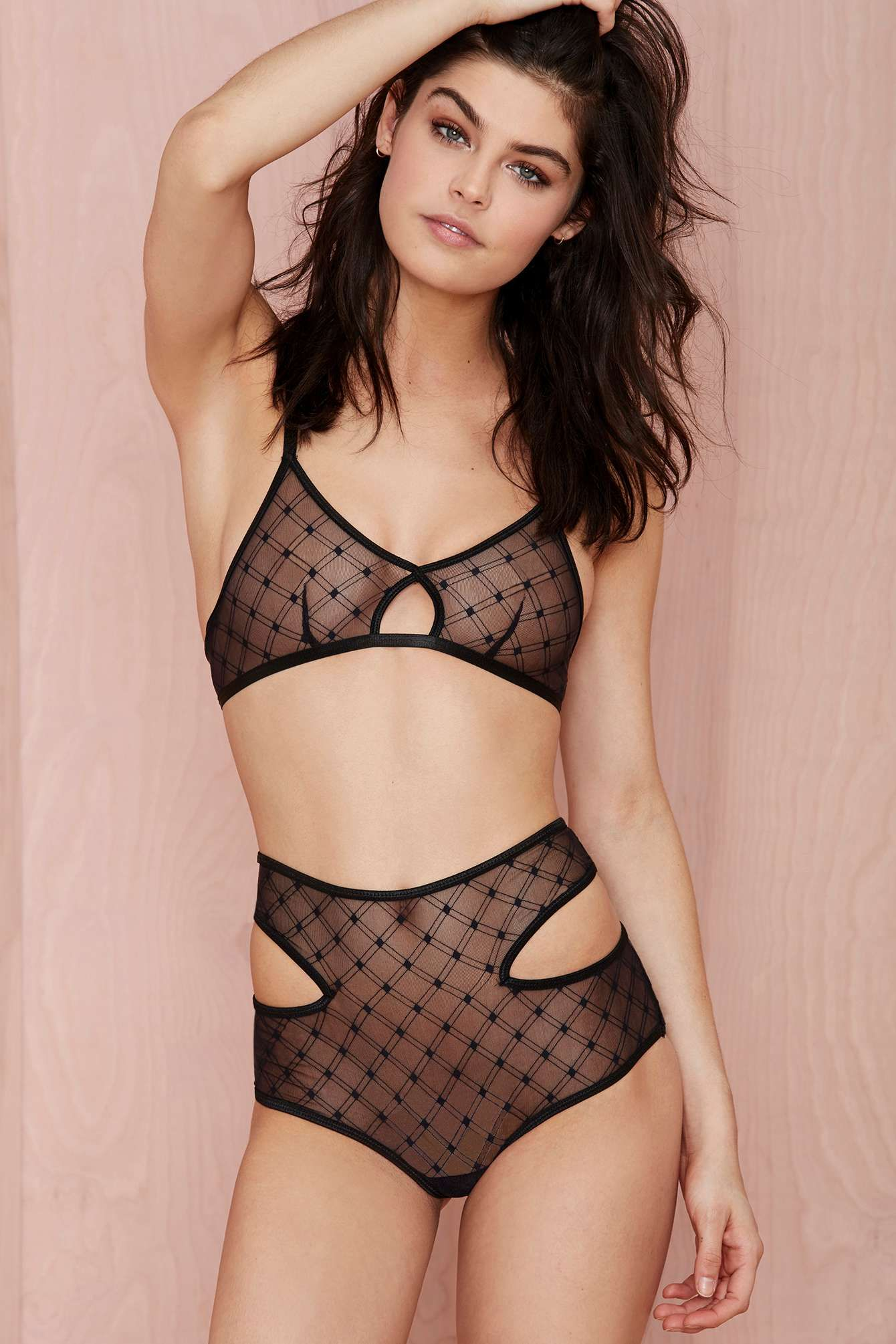 Nasty Gal Check This Out Sheer Panty