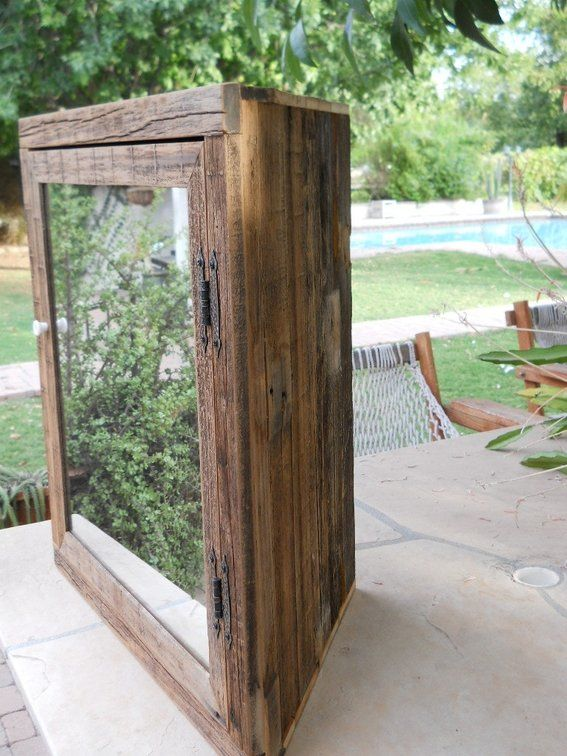 Custom Made Wooden Corner Medicine Cabinet With Mirror Powder - Wood bathroom medicine cabinets with mirrors for bathroom decor ideas