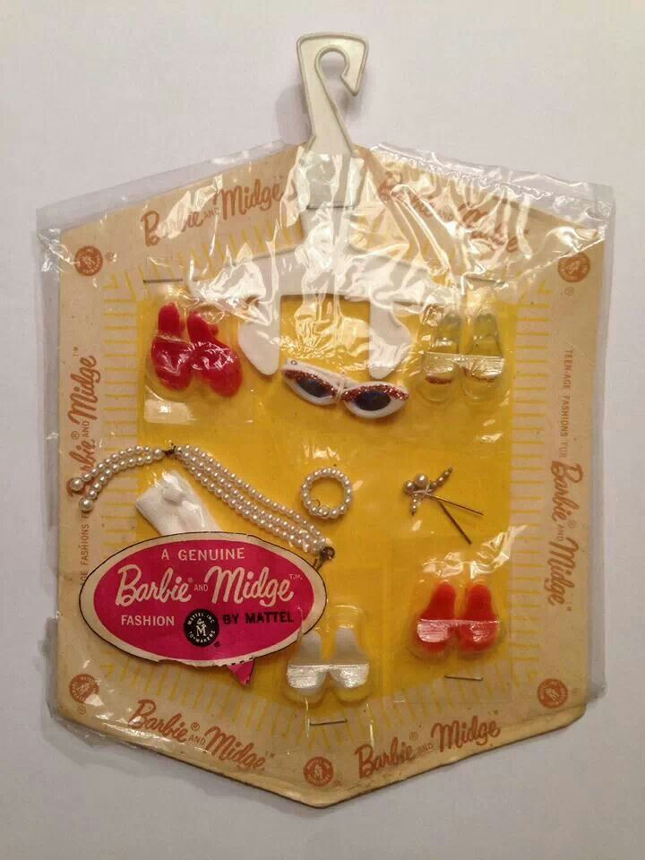Barbie and Midge Accessory Pack, 1960's