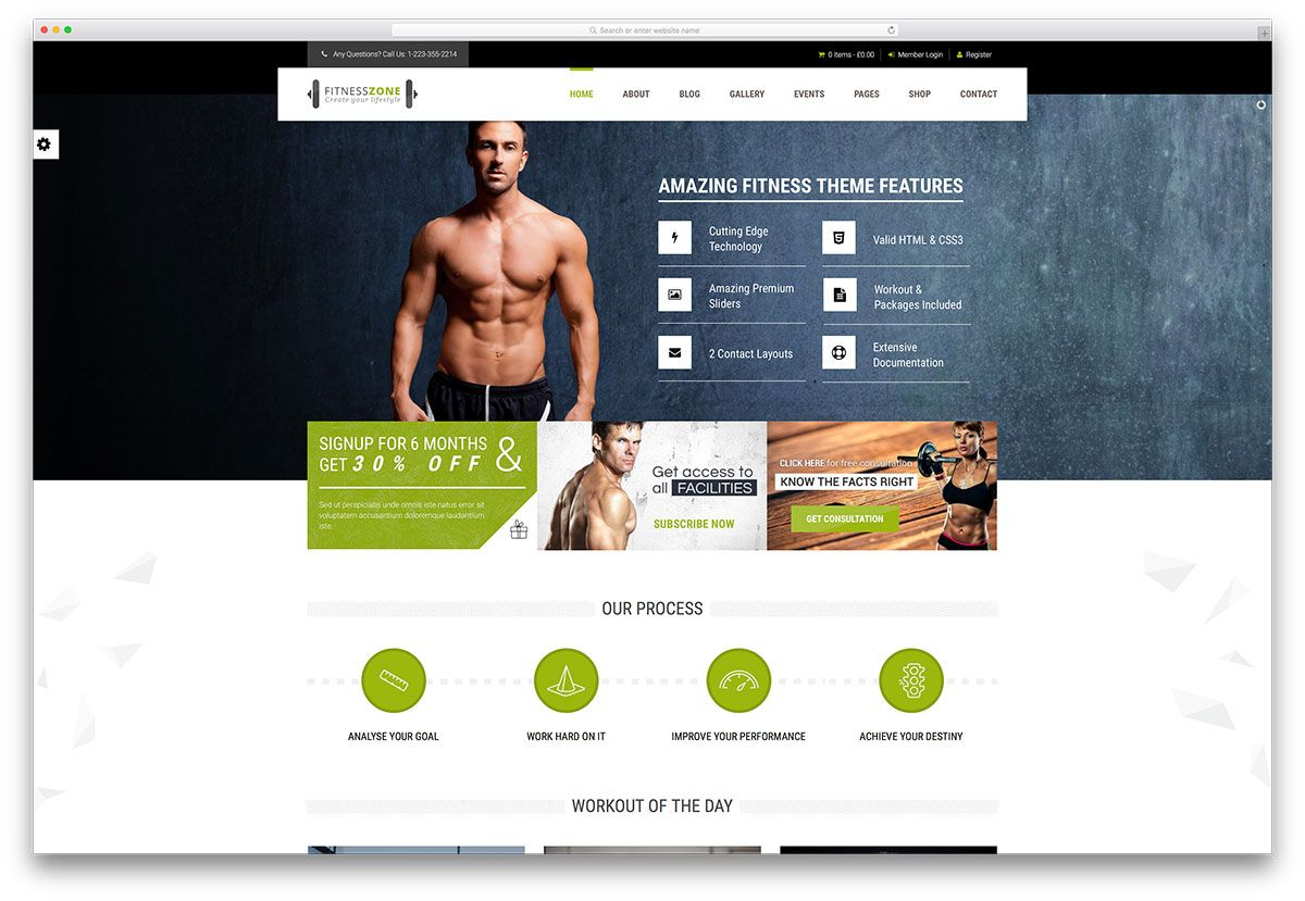 Best WordPress Fitness Themes For Gym & Fitness Centers