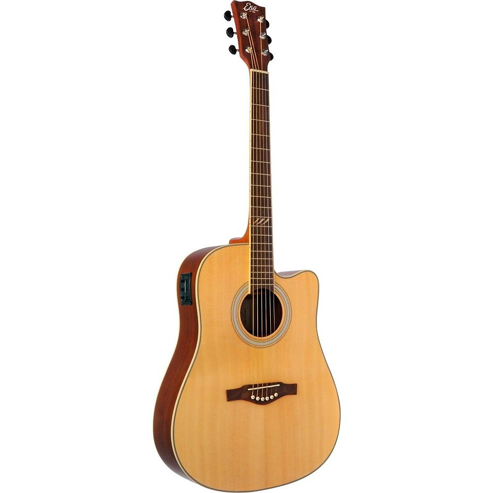 Eko Tri Series Dreadnought Cutaway Acoustic Electric Guitar Acoustic Electric Guitar Guitar Acoustic Electric