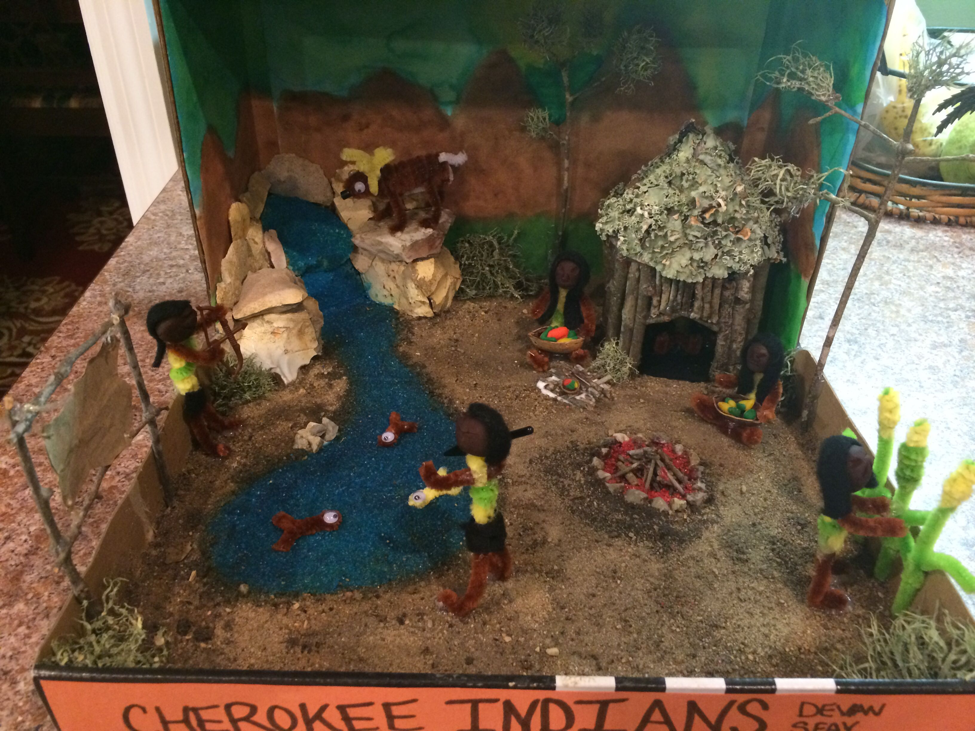 5th Grade Indian Project Cherokee Indian Project Ideas