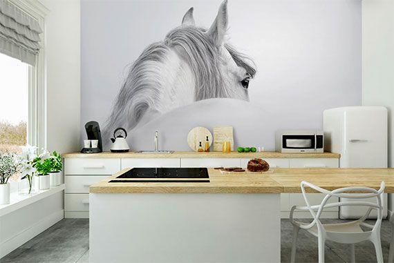 Effektvolle Wand- und Raumgestaltung mit Fototapete ...