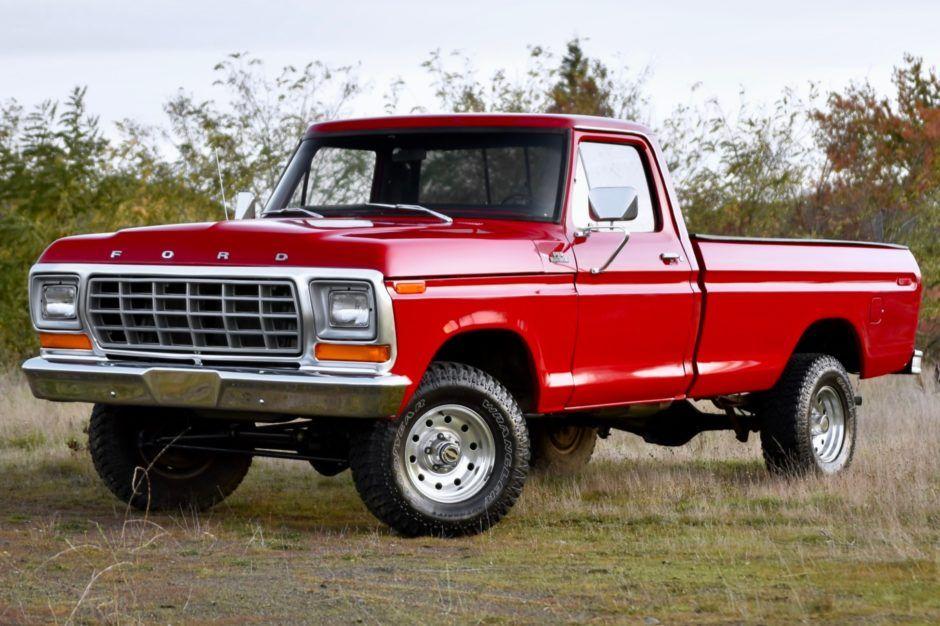 1978 Ford F 150 Ranger 4x4 Classic Ford Trucks Ford Trucks Ford Pickup Trucks