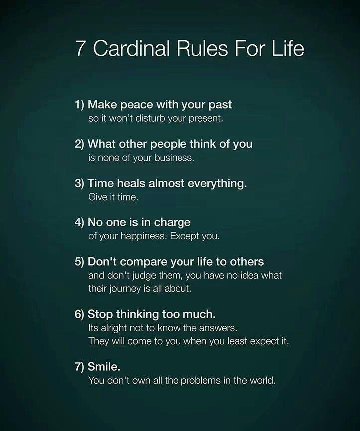 Seven Steps Towards A Happier Life