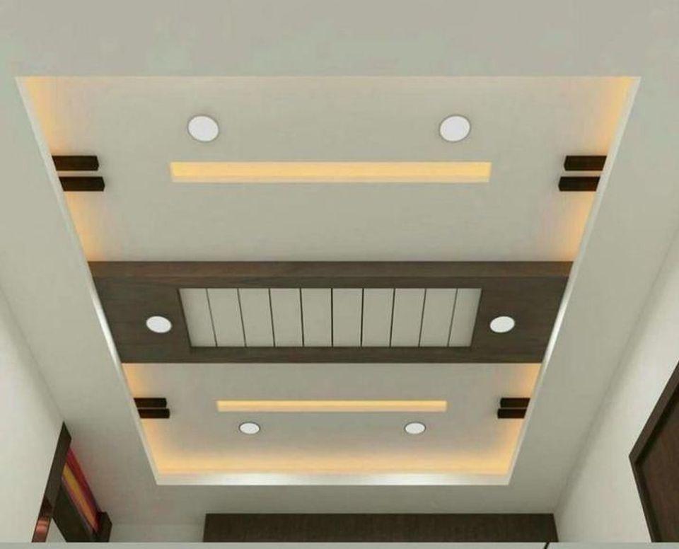 False Ceilings Design With Cove Lighting For Living Room 20 Decomg Simple False Ceiling Design Pop False Ceiling Design Ceiling Design Modern