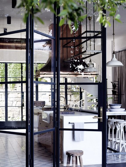 Snob Fashion Blog Home Steel Windows Interior