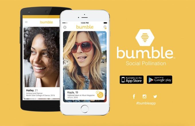 Bumble Means Business New dating app, Dating advice for