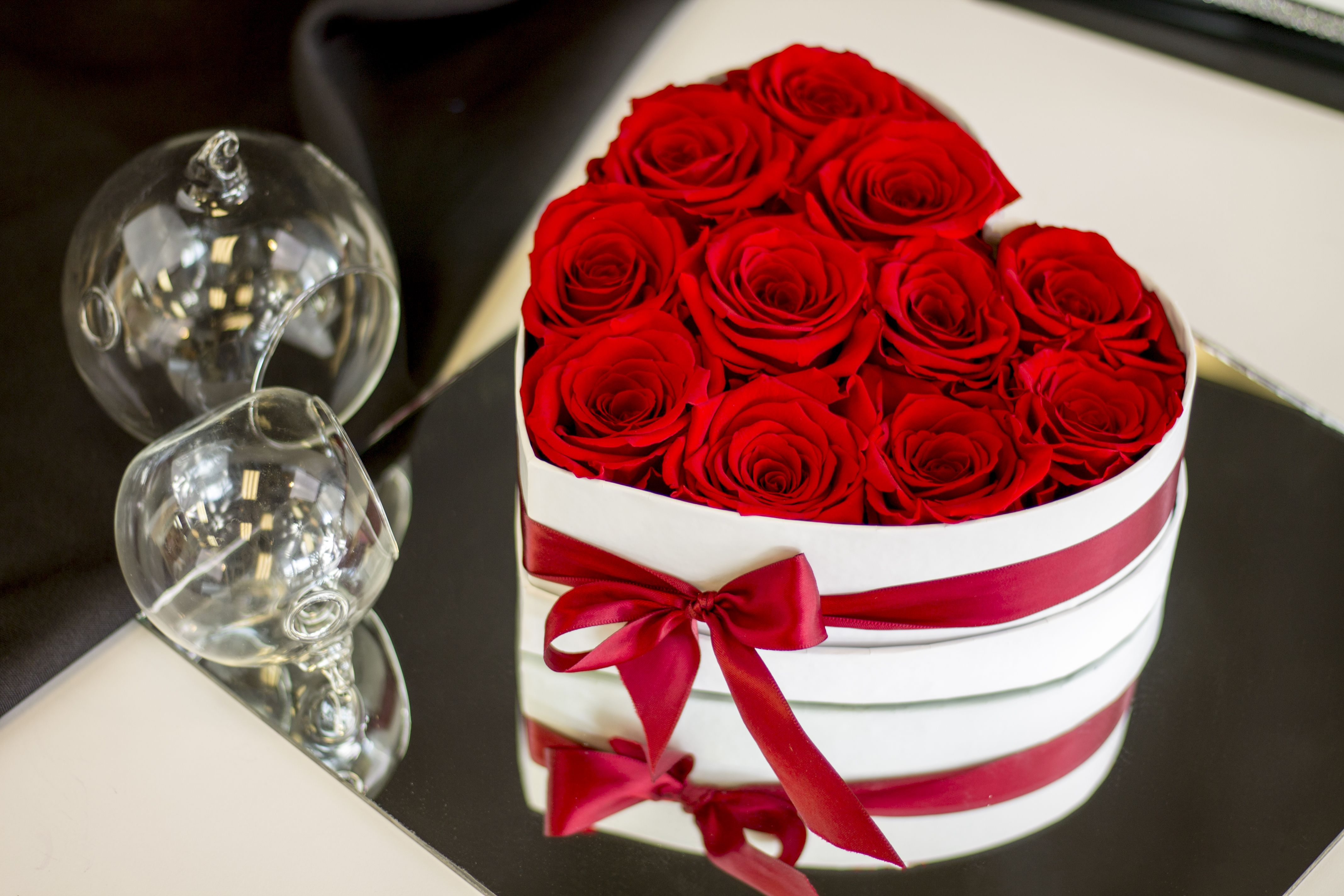 Real Luxury Roses Which Last More Than 1 Year Arreglos