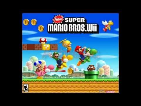 New Super Mario Bros Wii Top 10 Music Super Mario Bros Games Mario Mario Bros