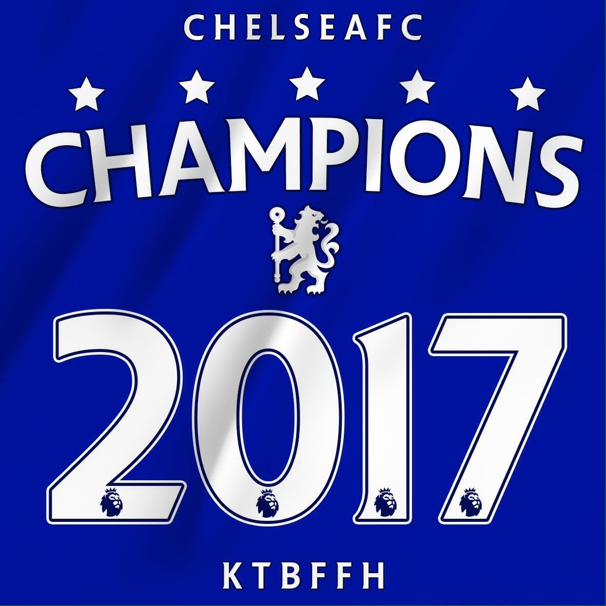 Chelsea FC - 2017 EPL Champions | Miscellaneous ...