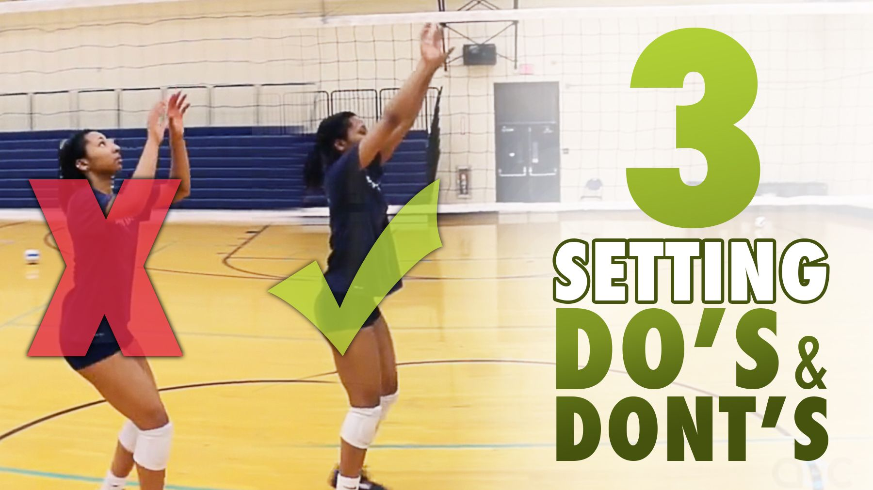 3 Setting Do S And Don Ts With Salima Rockwell Volleyball Setter Volleyball Training Volleyball Tips