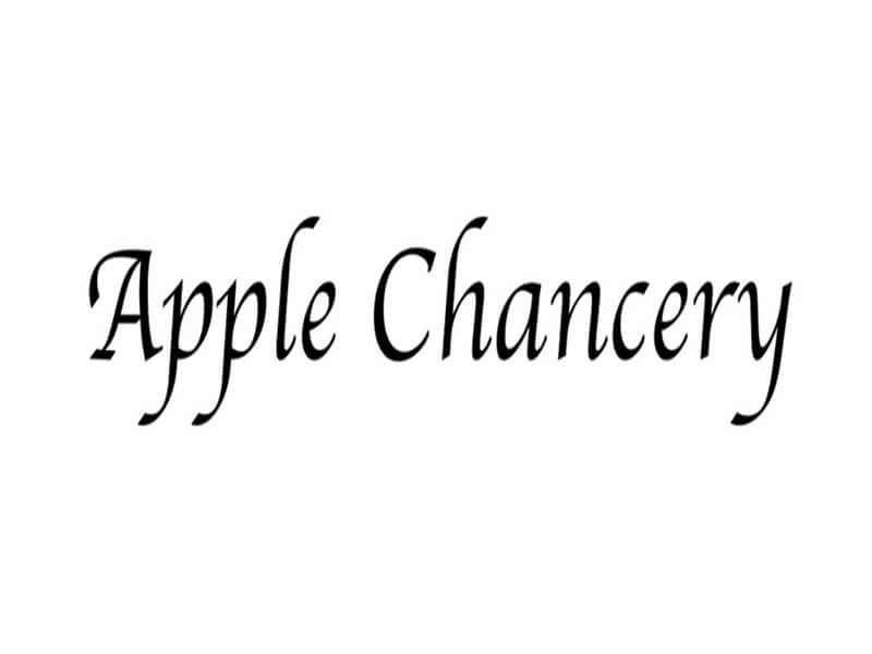 Apple Chancery Font Free Download Download Fonts Free Fonts