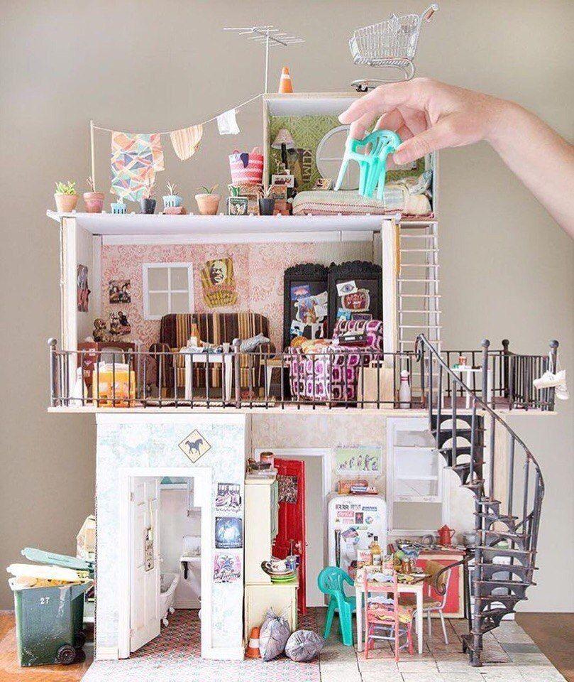 6cb6e0f22715b3 Just Amazing, Aime Juste, Diy Maison Poupée, Miniatures Pour Maison De  Poupée,