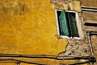 Shabby Window Shutters: Venice, Italy (5x7 photo) - Travel Photography via Etsy