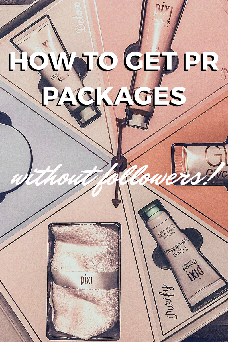 How To Get On Pr Lists Without Followers Skincare Packaging Free Beauty Products Packaging
