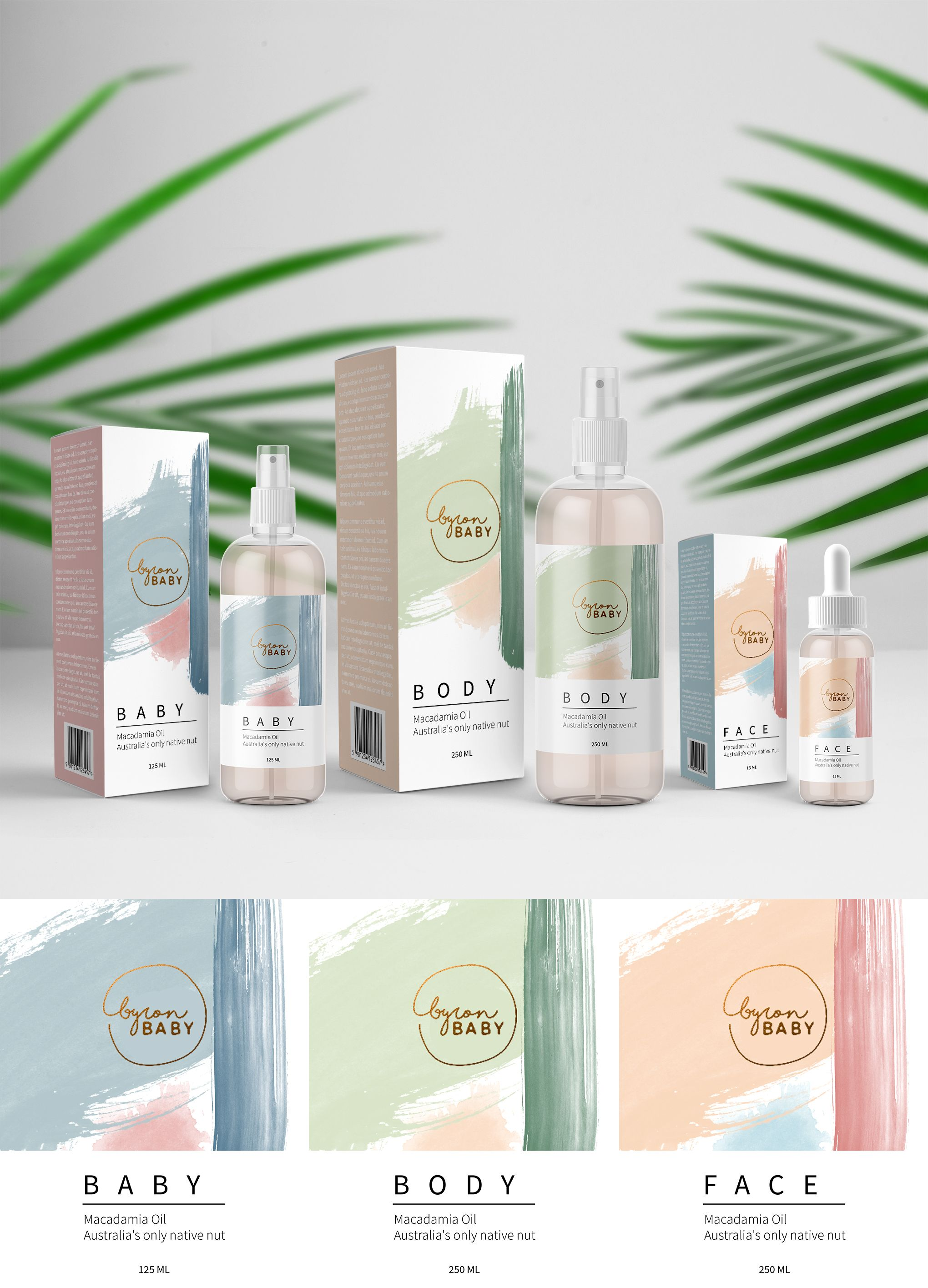 Skin Care Packaging Design By Adina Skin Care Products Design