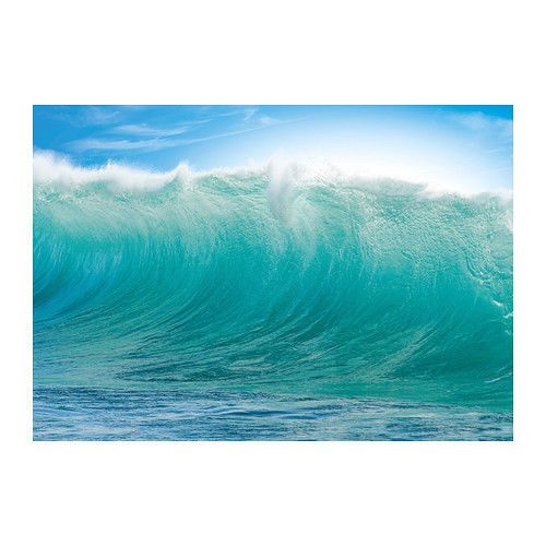 New Ikea Premiar Hawaii Waves 78x55 Canvas Wall Art Free Shipping Ikea Premiar Ikea Art Ikea Pictures