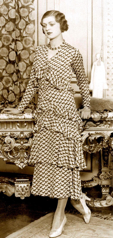 Creepingirrelevance Vintage Outfits 1930s Fashion Vintage Fashion 1930s [ 1535 x 736 Pixel ]