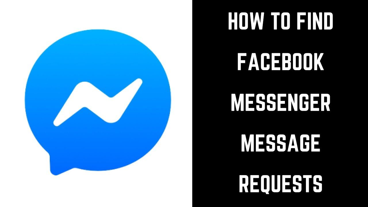 How To Find Facebook Messenger Message Requests Find Facebook How To Use Facebook Message Request