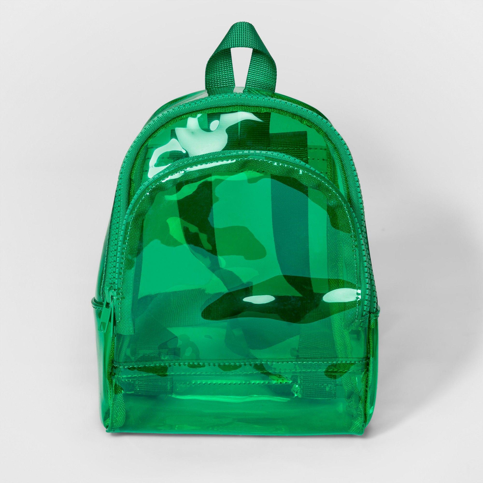 4c9d0f098f Women s Mini Jelly Backpack Handbag - Mossimo Supply Co. Green ...