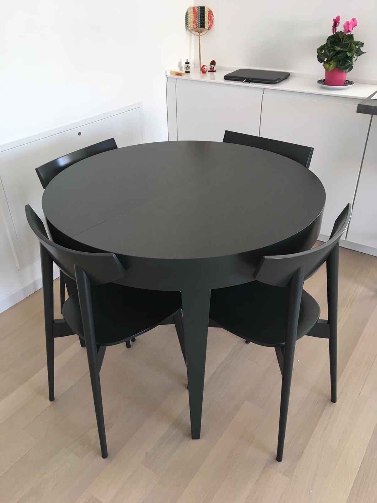 Damo M Tavolo Rotondo Allungabile Round Extensible Table Tavolo Tondo Tavolo Tavolo Rotondo