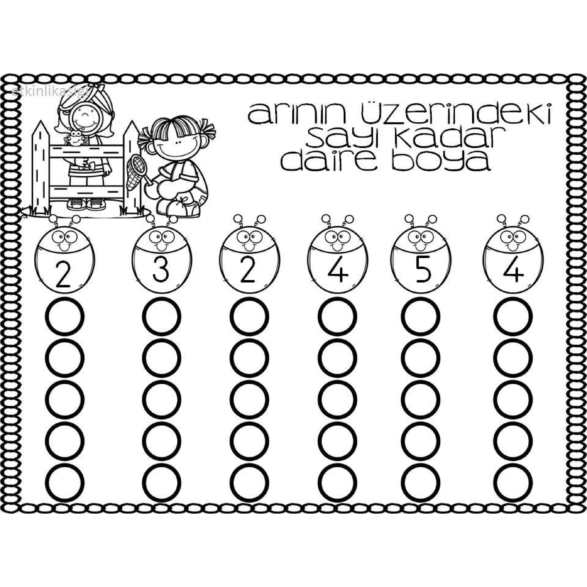 Printable Worksheets For Kindergarten In With Images