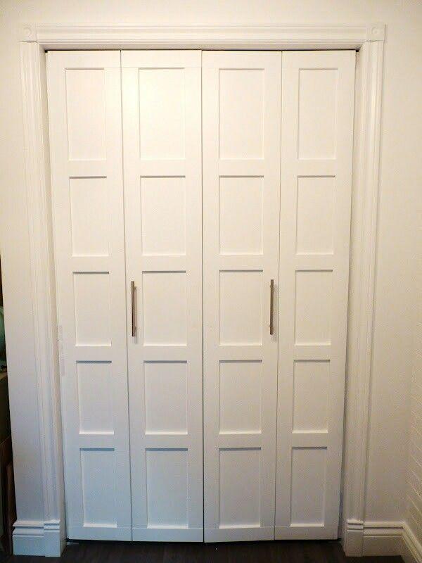 6 Simple Easy Diy Closet Door Transformations Puertas De Closet Renovacion De Puerta Diseno De Armario