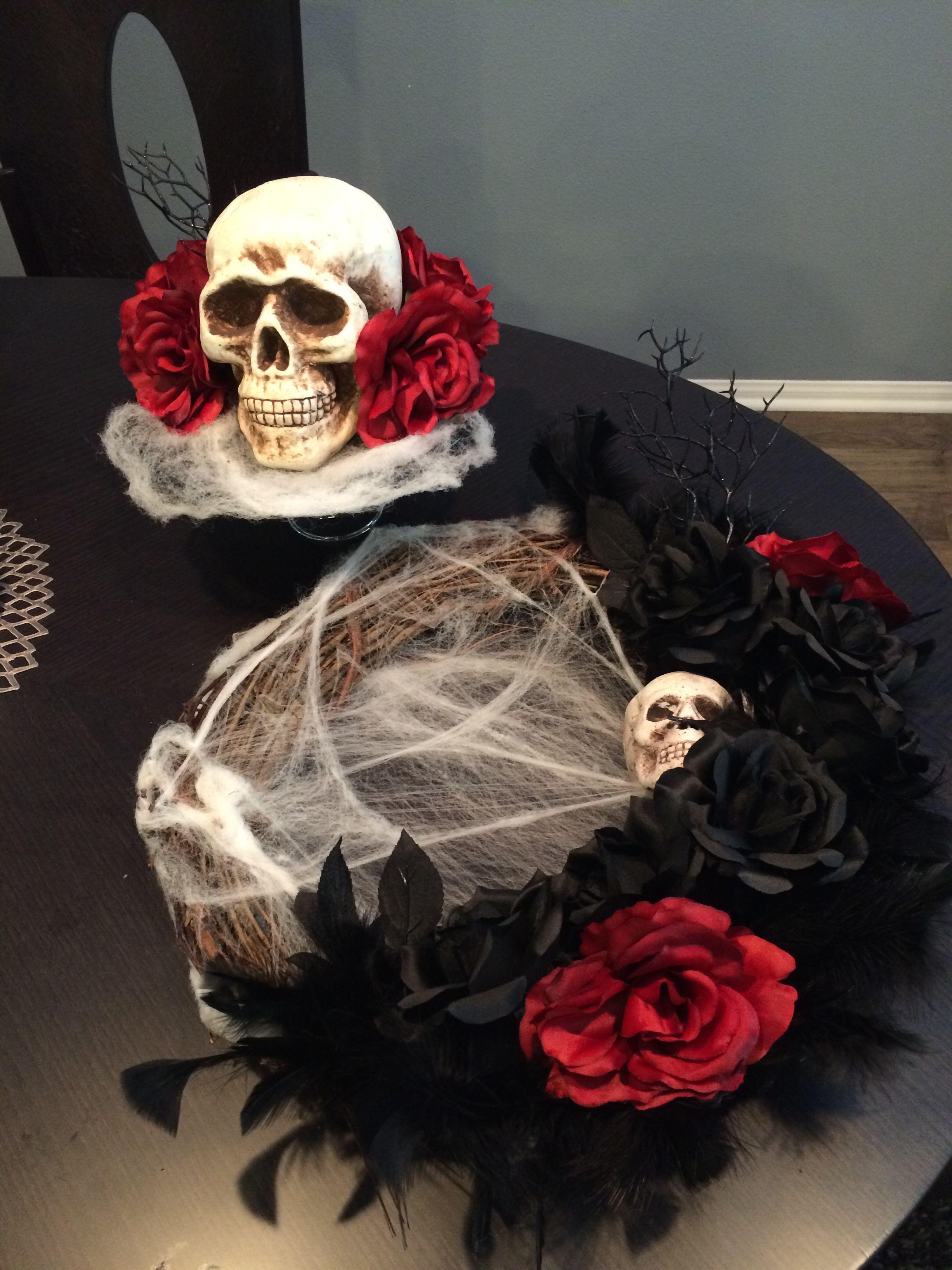 DIY Romantically creepy Halloween decor Halloween decor - halloween diy decor