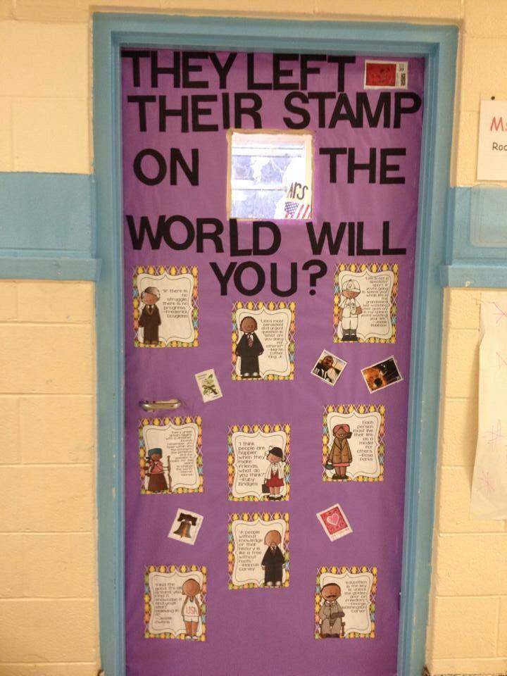 Black History Month Classroom Door | classroom bulletin ...