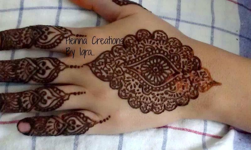 Credits Henna Creations By Iqra On Facebook Mehndi Pinterest