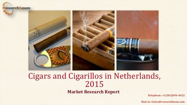 """Cigars and Cigarillos in the Netherlands"", is an analytical report by Canadian which provides extensive and highly detailed current and future market trends in the Dutch market."