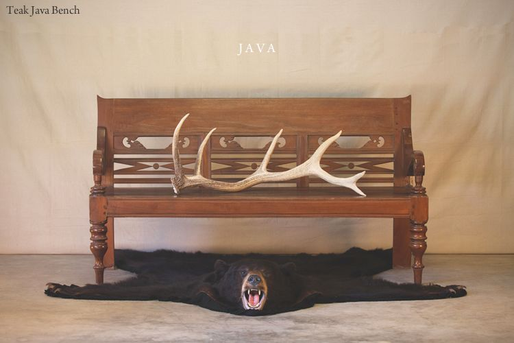 Good Hunt And Lane | A Top Shelf Furniture Company | Teak Java Bench | Solid Wood