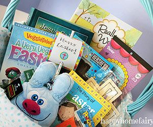 Best easter basket ideas without candy easter baskets basket best easter basket ideas without candy christ centered easter basket via parents negle Image collections