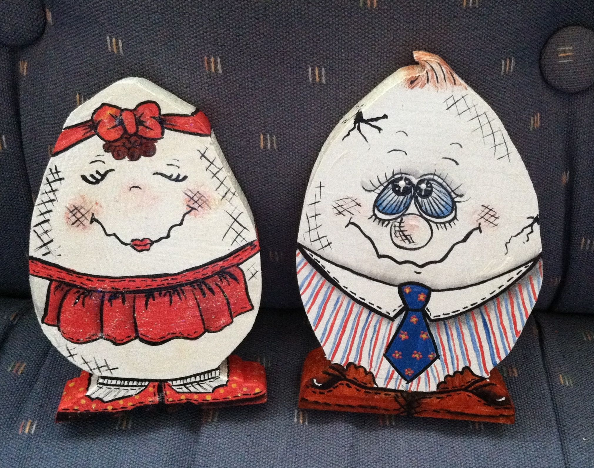 B Nd J Tole Painted Easter Eggs I Love Painting Gaye Shoell