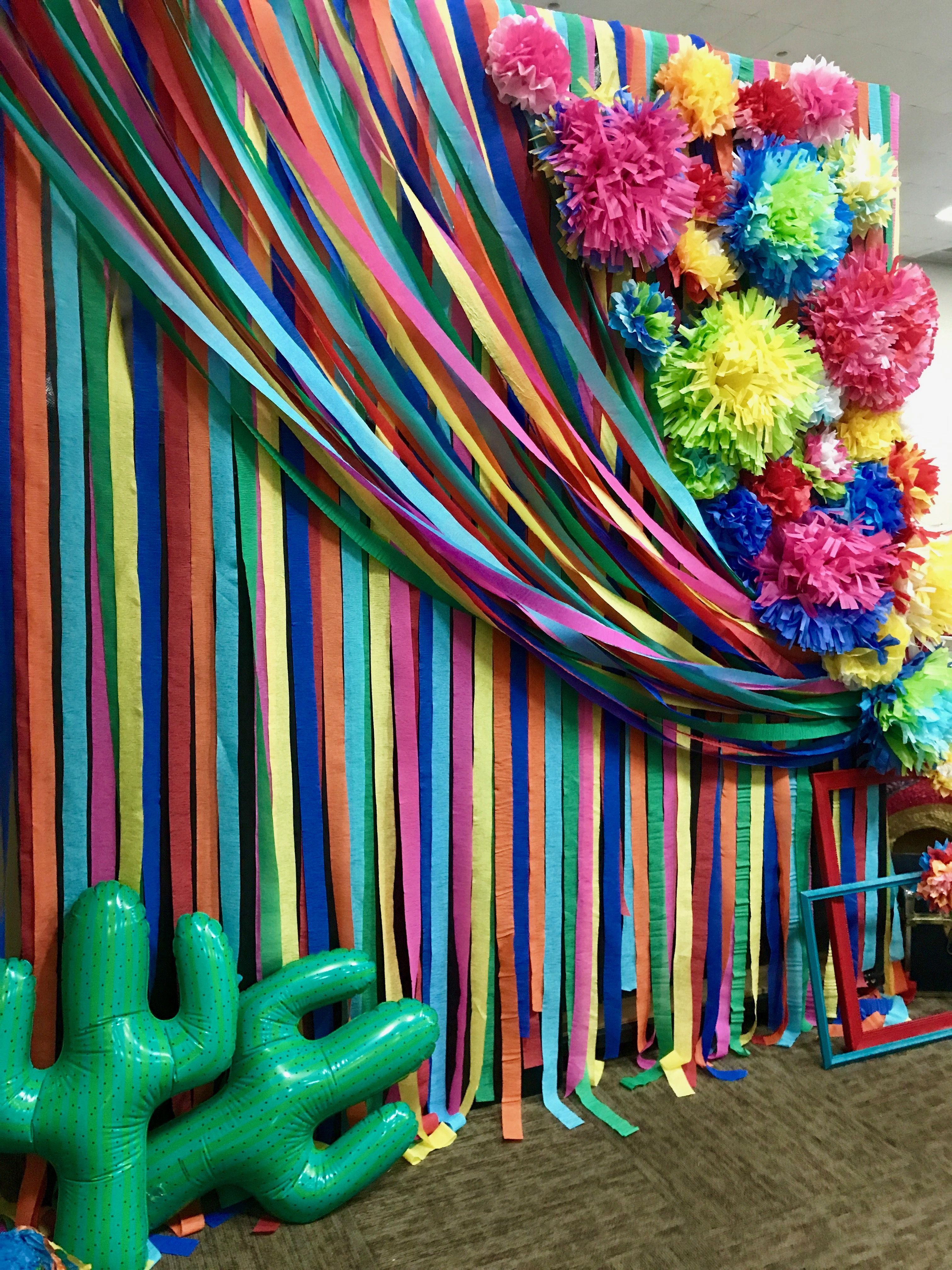 6 Days Ago Mexican Party Decorations Fiesta Theme Party Fiesta Birthday Party