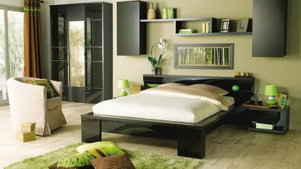 Zen decorating ideas for a soft bedroom ambience zen Zen room colors